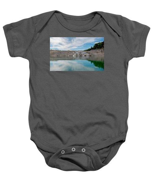 Perdernales Falls II Baby Onesie
