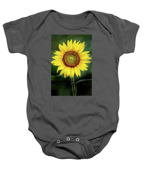 Perfect Sunflower Baby Onesie