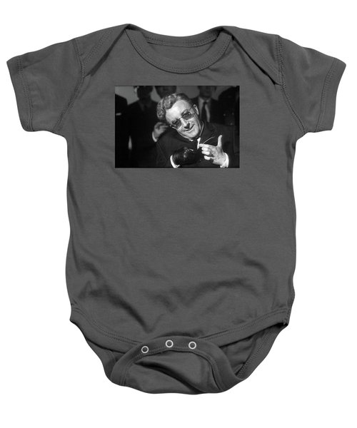 Peter Sellers As Dr. Strangelove Number One Color Added 2016 Baby Onesie