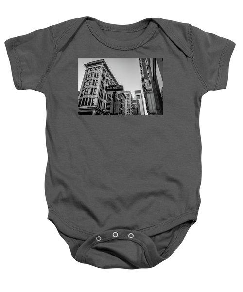Philadelphia Urban Landscape - 0980 Baby Onesie