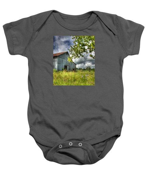 Phillip's Barn #2 Baby Onesie