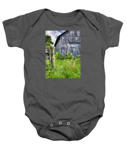 Phillip's Barn #3 Baby Onesie