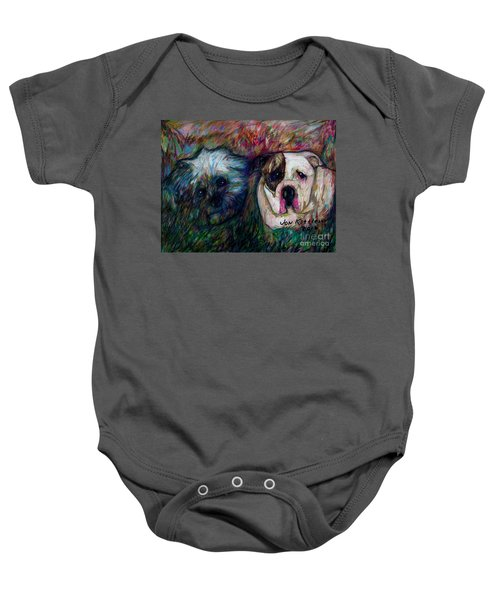 Phoebe And Ace Baby Onesie