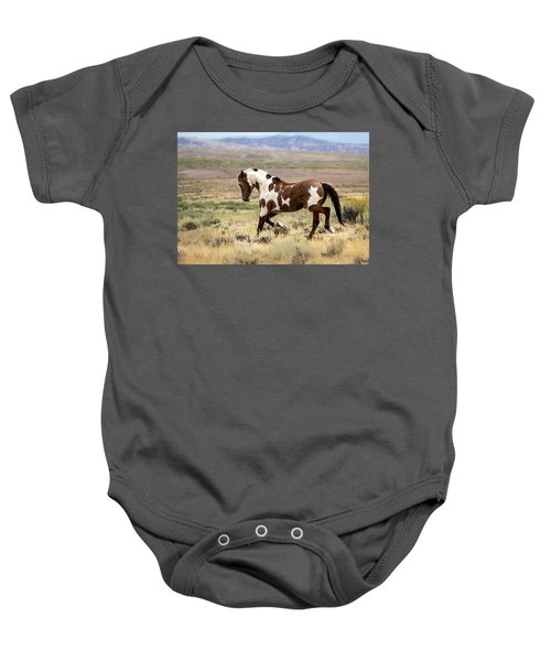 Picasso Strutting His Stuff Baby Onesie