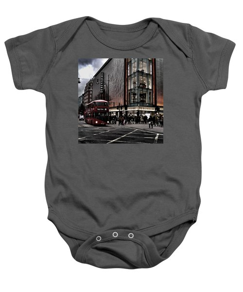 Piccadilly Circus Baby Onesie
