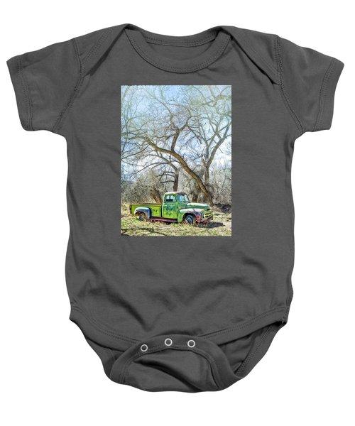 Pickup Under A Tree Baby Onesie