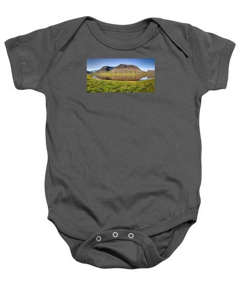 Picnic - Panorama Baby Onesie