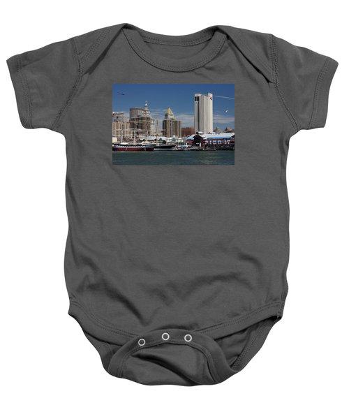 Pier 17 Nyc Baby Onesie