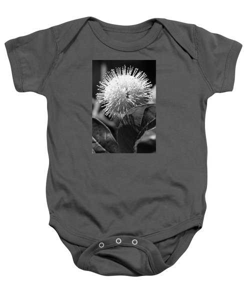 Pin Flower Baby Onesie