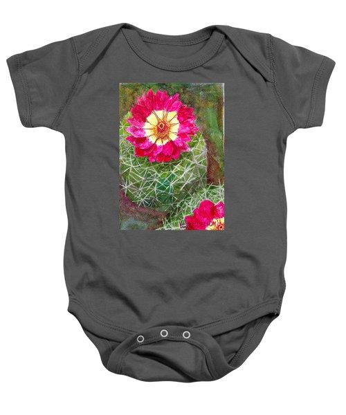 Pincushion Cactus Baby Onesie