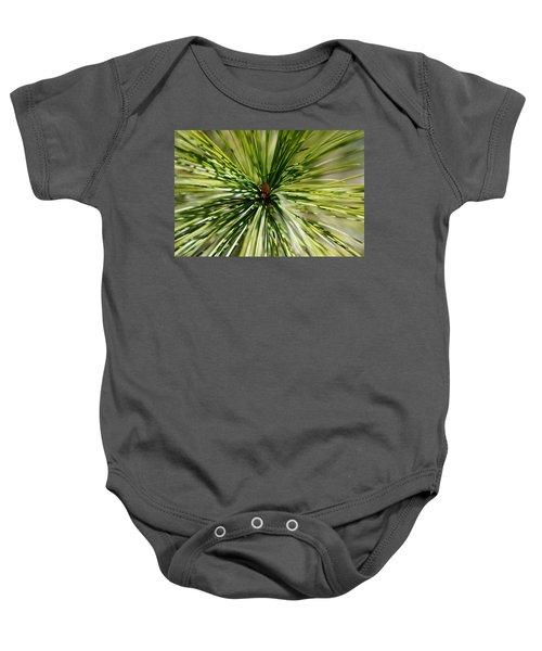 Pine Needles Baby Onesie