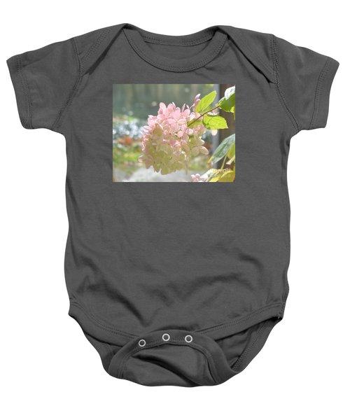 Pink Bloom In Sun Baby Onesie