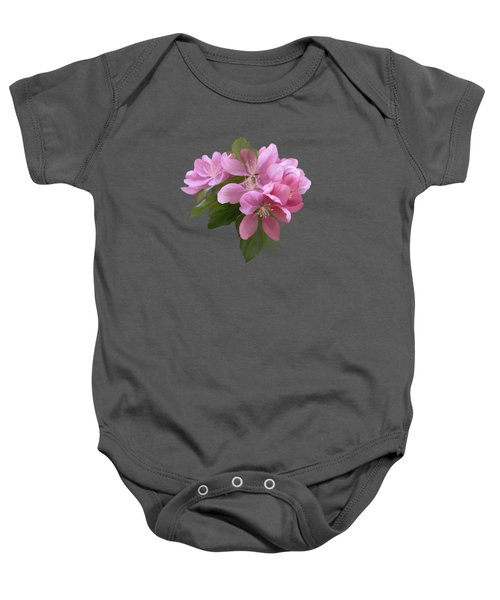 Pink Blossoms Baby Onesie