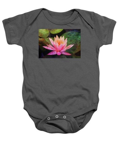Pink Lotus 4134 Idp_2 Baby Onesie