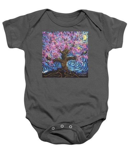 Pinky Tree Baby Onesie