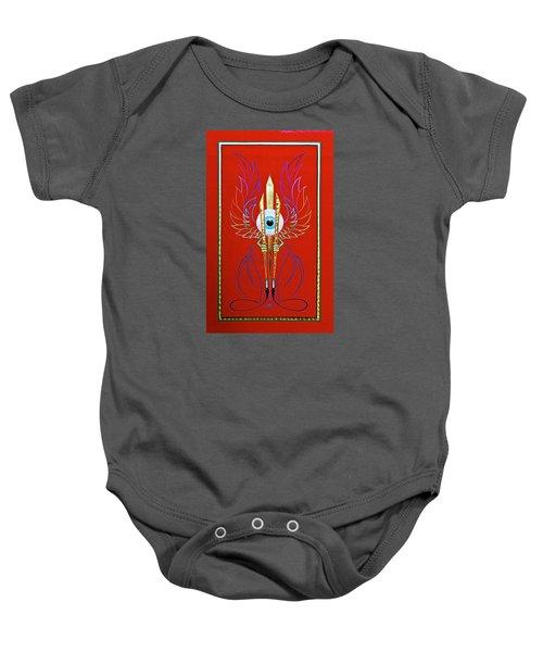 Pinstriper's Icon Baby Onesie