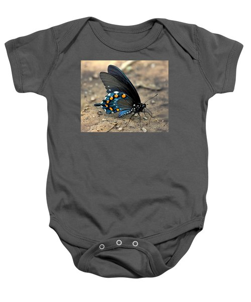 Pipevine Swallowtail Close-up Baby Onesie