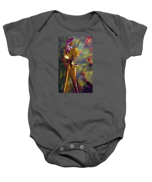 Pitcher Plant Baby Onesie