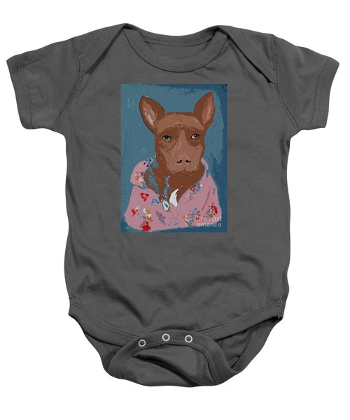 Pitty In Pajamas Baby Onesie