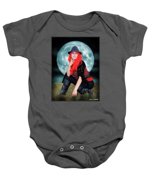 Pixie Under A Blue Moon Baby Onesie