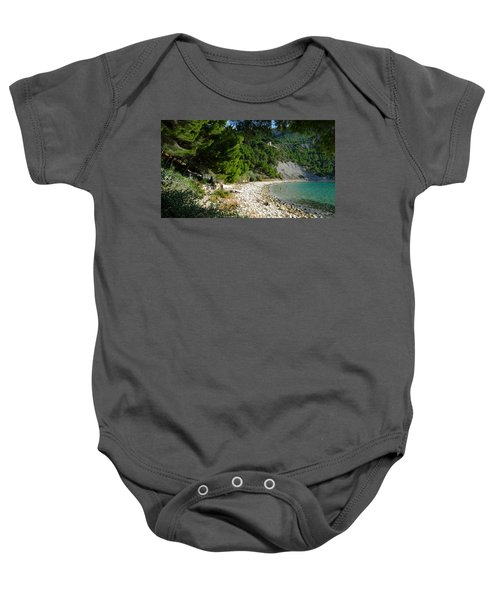 Arene Beach Of Cassis Baby Onesie
