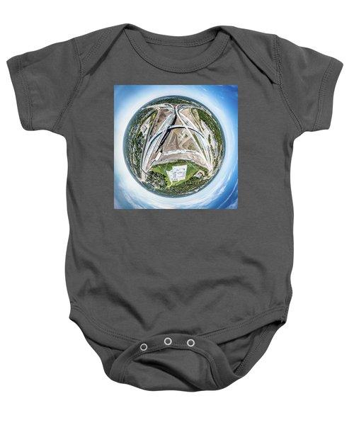Planet Under Construction Baby Onesie