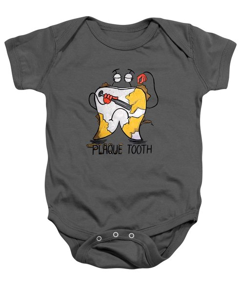 Plaque Tooth T-shirt Baby Onesie