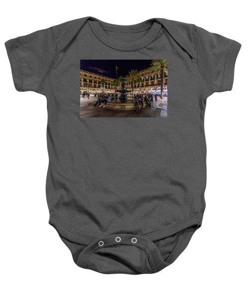 Plaza Reial Baby Onesie