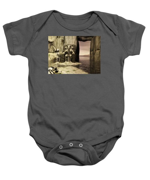 Plea Of The Penitent To The Lord Of Perdition Baby Onesie