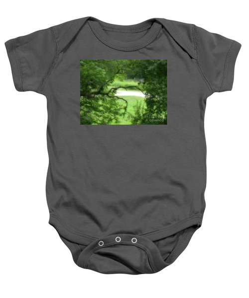 Reaching Out Baby Onesie