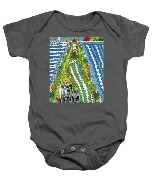 Point Arena Lighthouse Baby Onesie