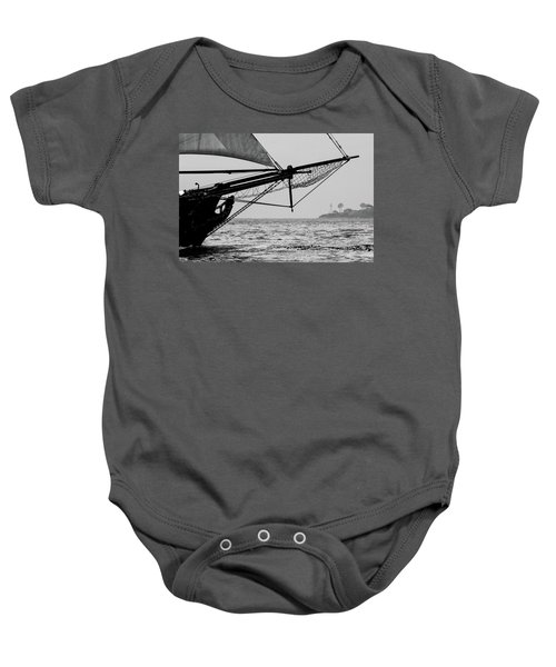 Point Loma Lighthouse Baby Onesie