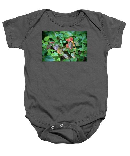 Poison Ivy In August Baby Onesie