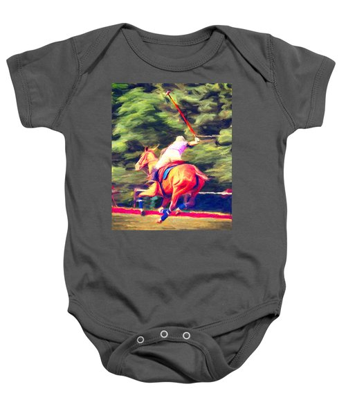 Polo Game 2 Baby Onesie