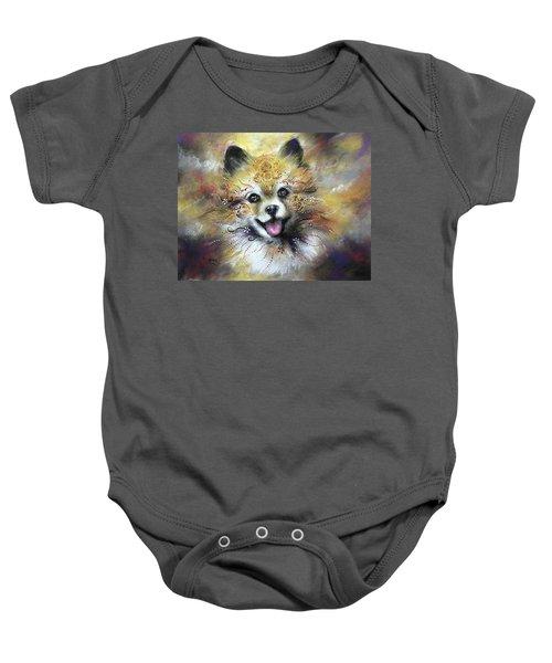 Pomeranian Baby Onesie