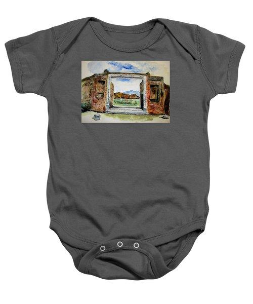 Pompeii Doorway Baby Onesie