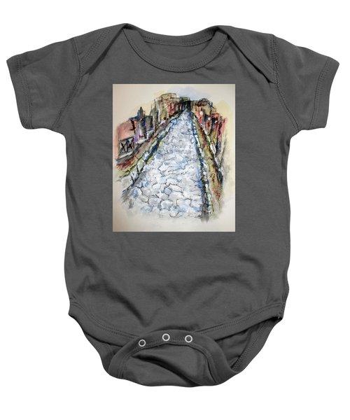 Pompeii Road Baby Onesie