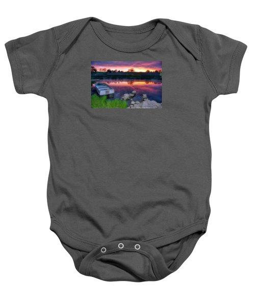 Pond Dreams 9 Baby Onesie