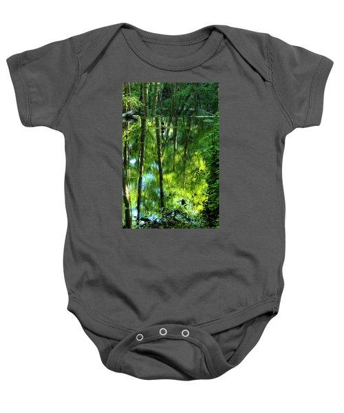 Pond On Gabrielino Trail Baby Onesie