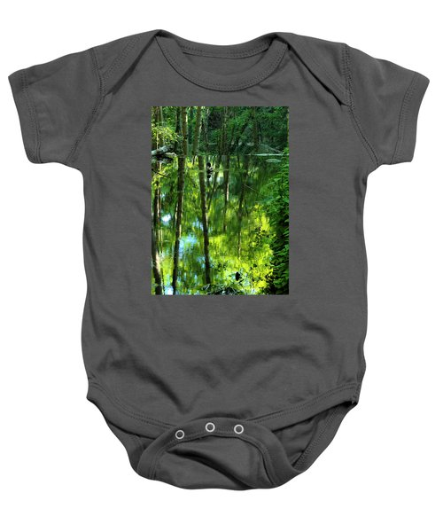Pond On Gabrielino Trail Baby Onesie