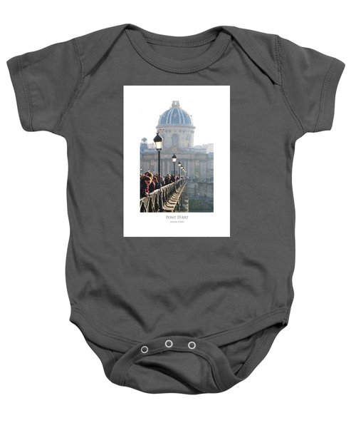 Pont D'art Baby Onesie