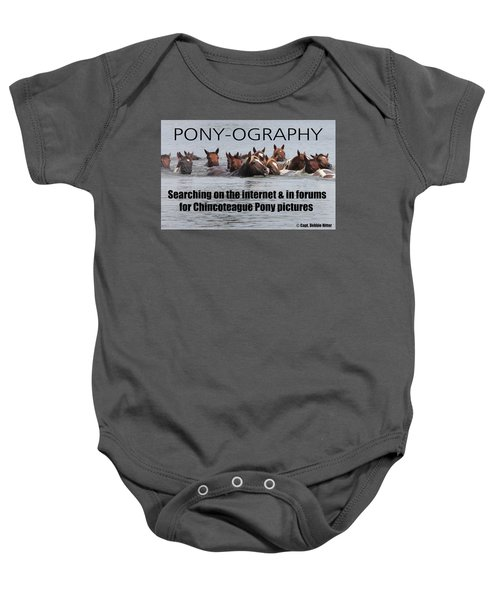 Pony Saying T- Shirt Baby Onesie