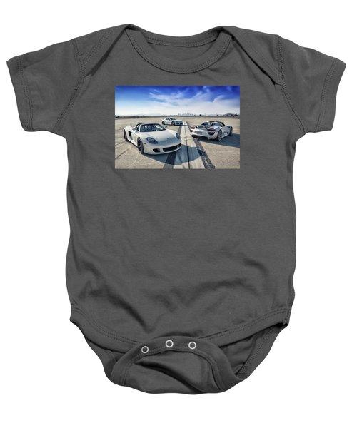 #porsche #carreragt,  #918spyder,  #cayman #gt4 Baby Onesie