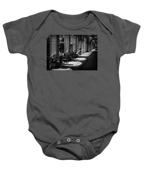 Portico Conversation Baby Onesie