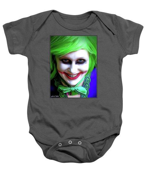 Portrait Of A Joker Baby Onesie