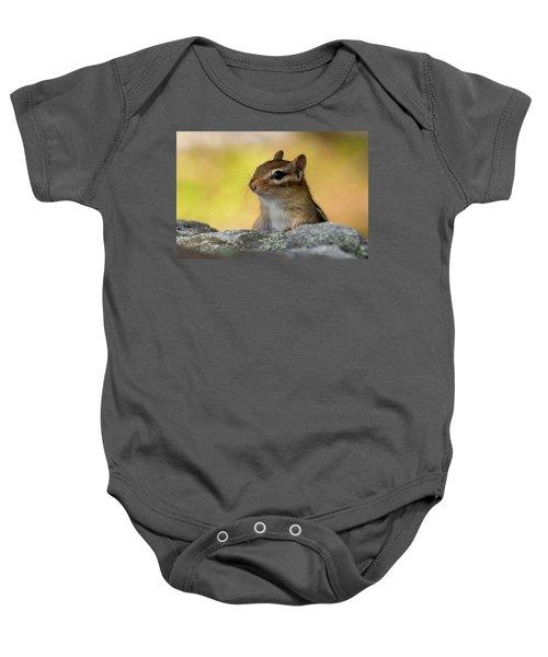 Posing Chipmunk Baby Onesie