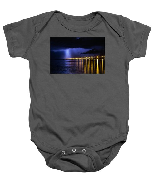 Power Of God Baby Onesie