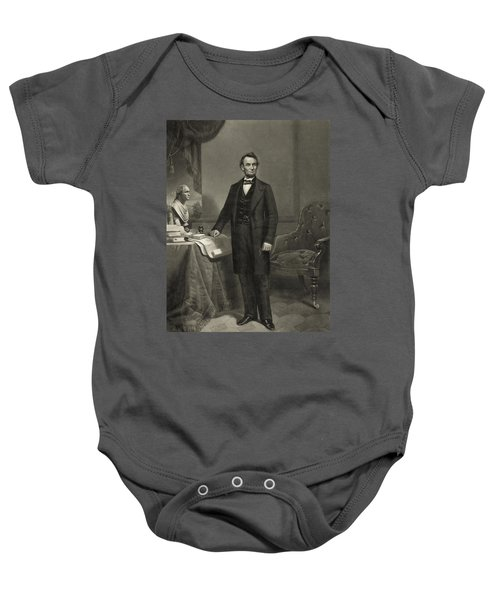 President Abraham Lincoln Baby Onesie