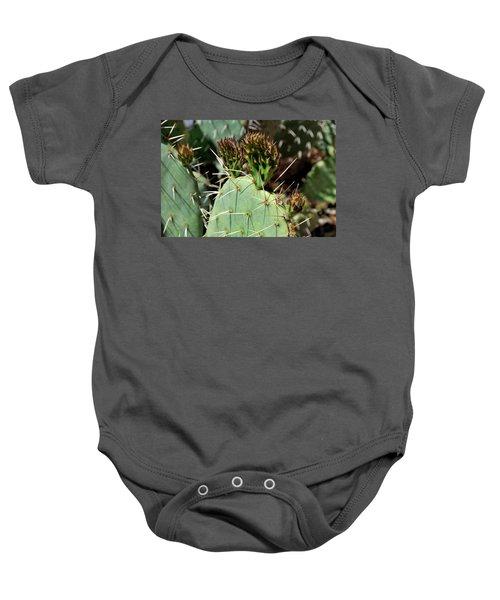 Prickly Pear Buds Baby Onesie