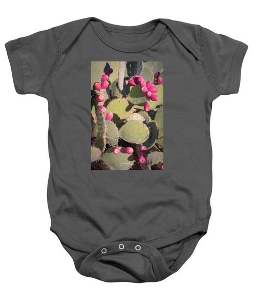 Prickly Pear Cactus Baby Onesie